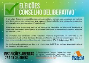 Eleições Conselho Deliberativo 2013