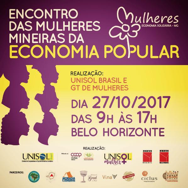 Encontro das Mulheres Mineiras da Economia Popular Solidária